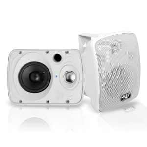 pyle outdoor waterproof speakers