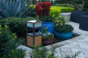 solar powered outdoor speakers