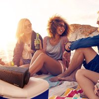 portable beach speakers