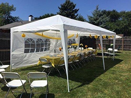 Peaktop 10x20 Outdoor Party Wedding Tent Canopy Gazebo