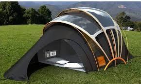 Solar dream tent