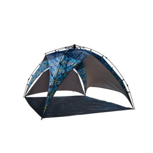 Fast pitch beach tent.