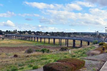 The bridge at Murray Bridge