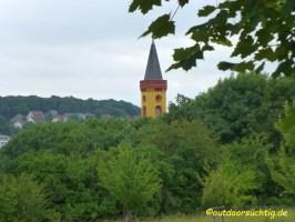 Nochmal, diesmal nur der Kirchturm