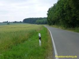 Die Straße entlang :-(
