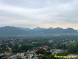 Der Blick auf das Siebengebirge