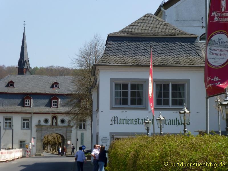 Kloster Marienstatt - der Biergarten lockt!