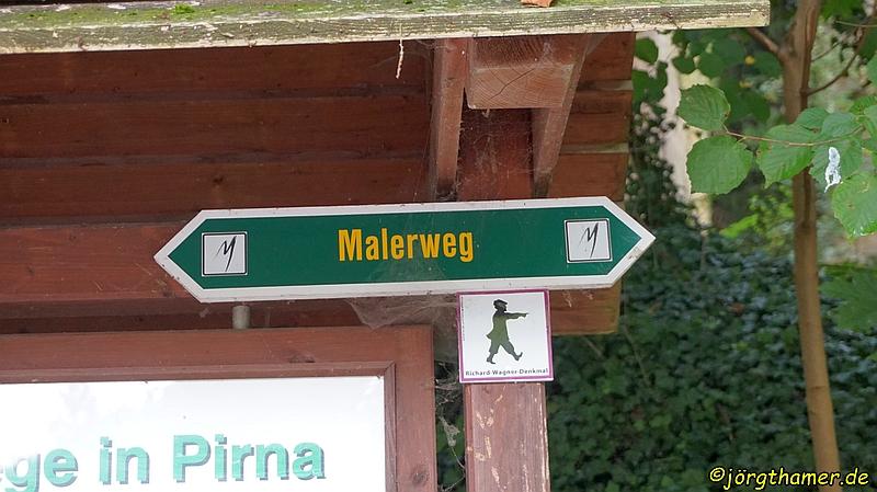 Der Malerweg - Start in Pirna-Liebethal