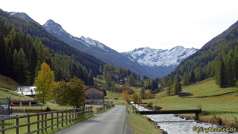 Biken in Davos - durchs Dischmatal