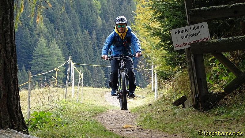 Sicheres Radfahren in den Bergen