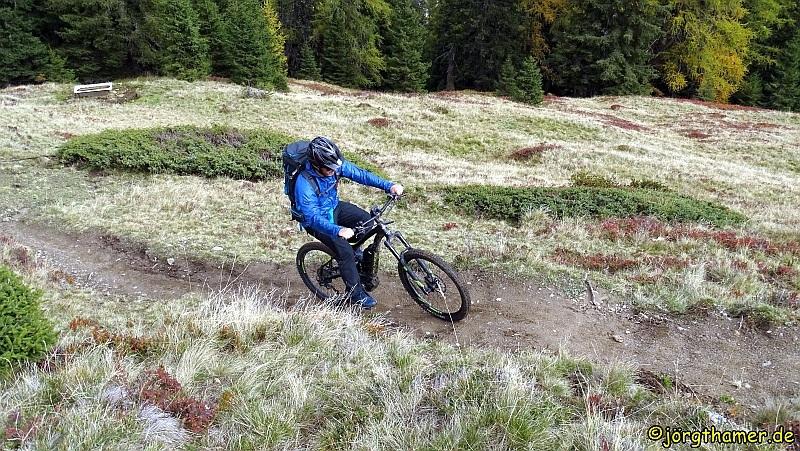 Bike Academy Davos - hinauf zur Stafelalp
