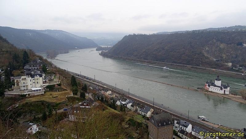 Wandern Rheinsteig Pfalzgrafenstein