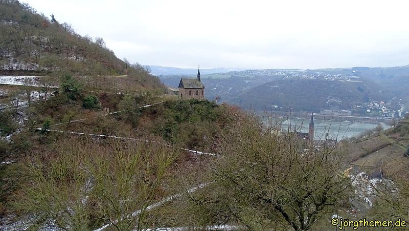 Blick auf die Clemens-Kapelle