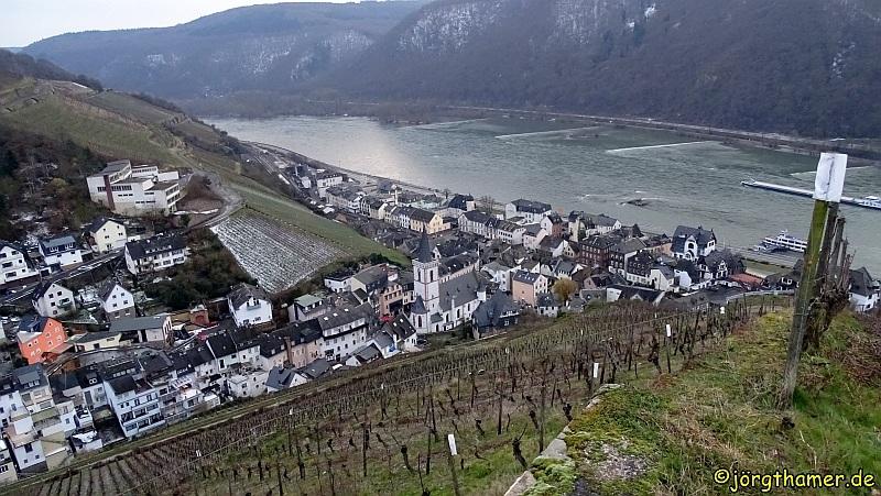 Wandern von Kaub nach Assmannshausen