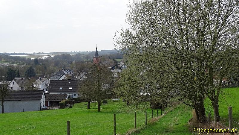 Blick auf Oberbachem