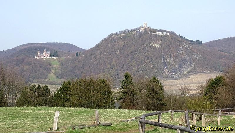 Wandern am Rodderberg - Aussicht
