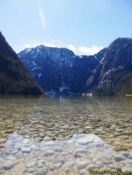 Klares Wasser am Königssee