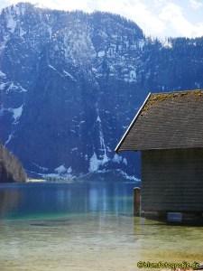 Hütte am Königssee