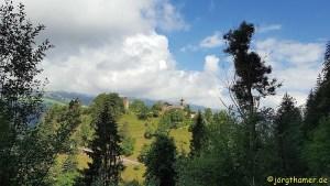 Wandern Via Spluga Etappe 1 - Hohen Rätien