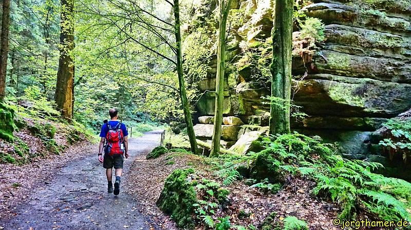 Wanderabenteuer am Malerweg