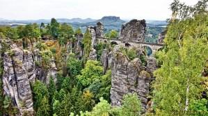 Wandern auf dem Malerweg - Bastei