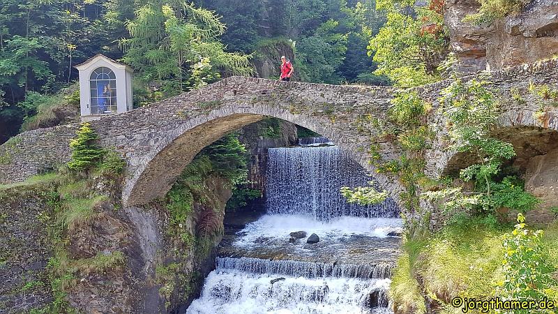 Via Spluga Etappe 4 - Brücke in Campodolcino