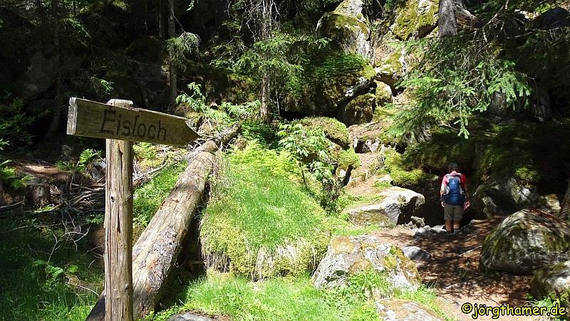 Via Spluga - Eisloch