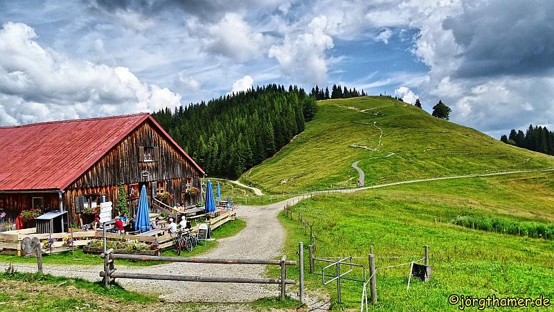 Himmelsstürmer Route - Fahnengehren Alpe