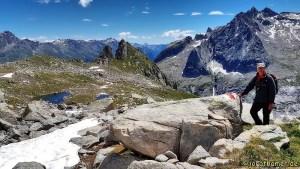 Berglandschaft am Albigna Stausee