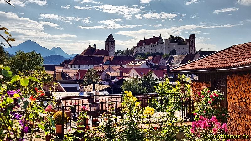 Wandertrilogie Allgäu - Füssen und das Hohe Schloss