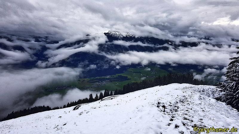 Wandernung durch den Pinzgau - im Schnee