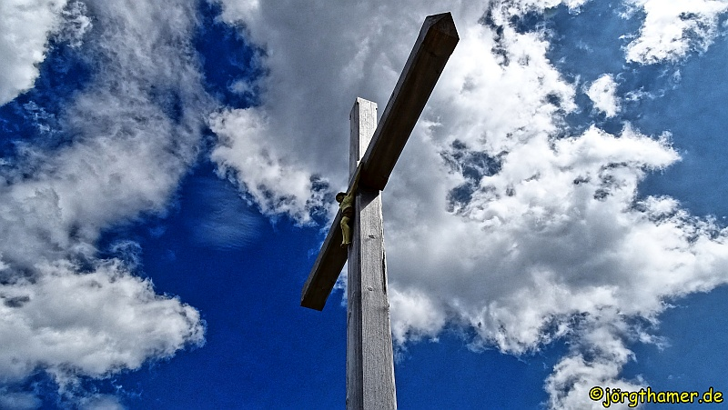 Gipfelkreuz Hochplatte
