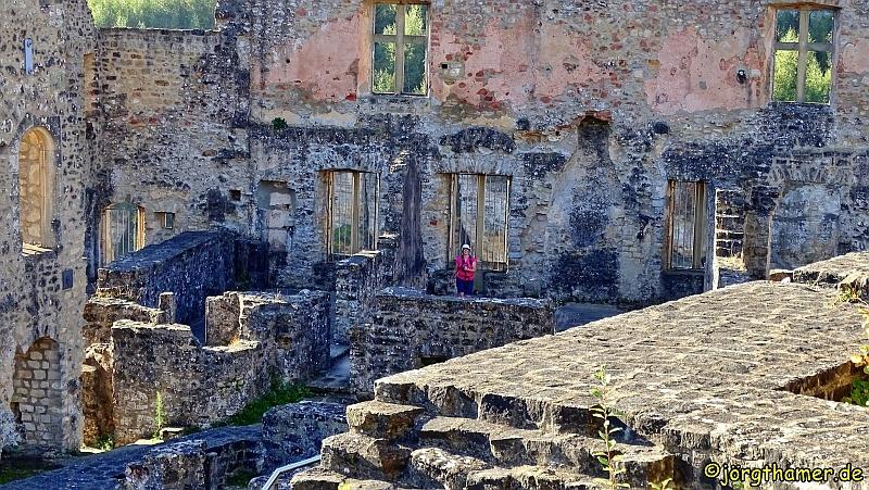 Kleine Luxemburgische Schweiz - Burg Larochette