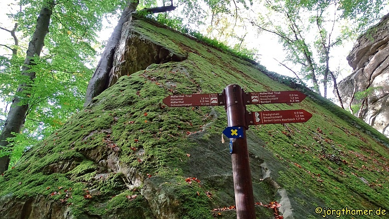 Wandern am Mullerthal Trail