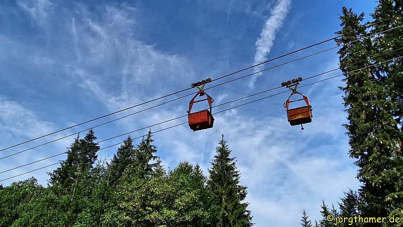 Magnisitbahn bei Hochfilzen