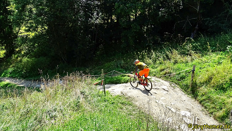 Mountainbiker Saalbach Hinterklemm