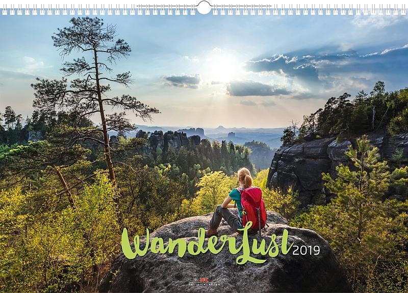 Kalender Wanderlust 2019