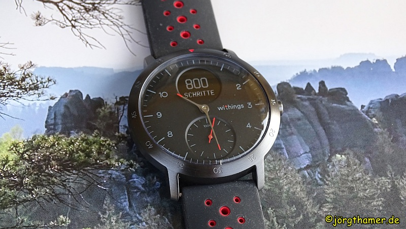 Withings Steel HR Sport - Detailsansicht