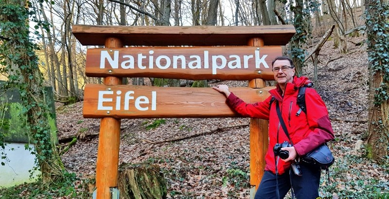 Schild Nationalpark Eifel