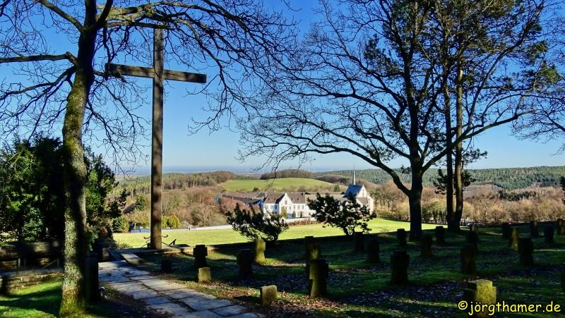Blick auf Kloster Mariawald