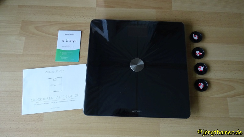 Withings Body+ Packungsinhalt