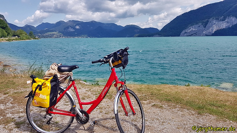 Radfahren durchs Salzkammergut