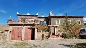 Gîte Zawyat Oulmzi im Ait Bouguemez, Marokko