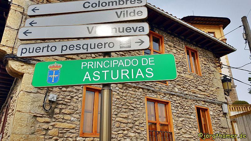 Camino del Norte - Asturien