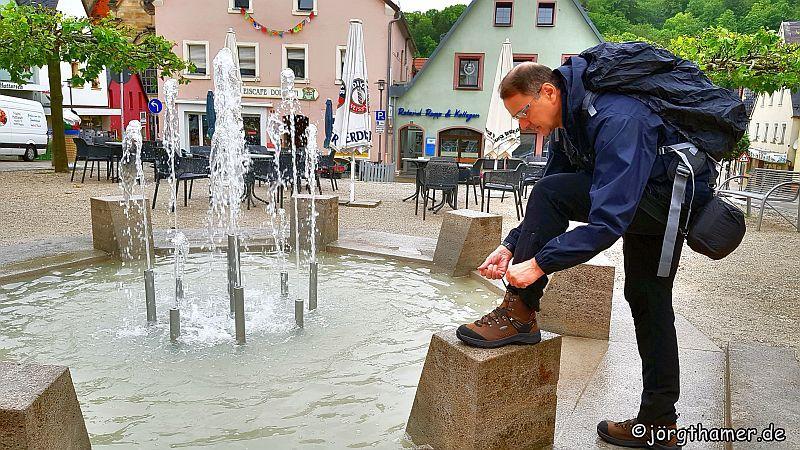 Pegnitz in der Fränkischen Schweiz
