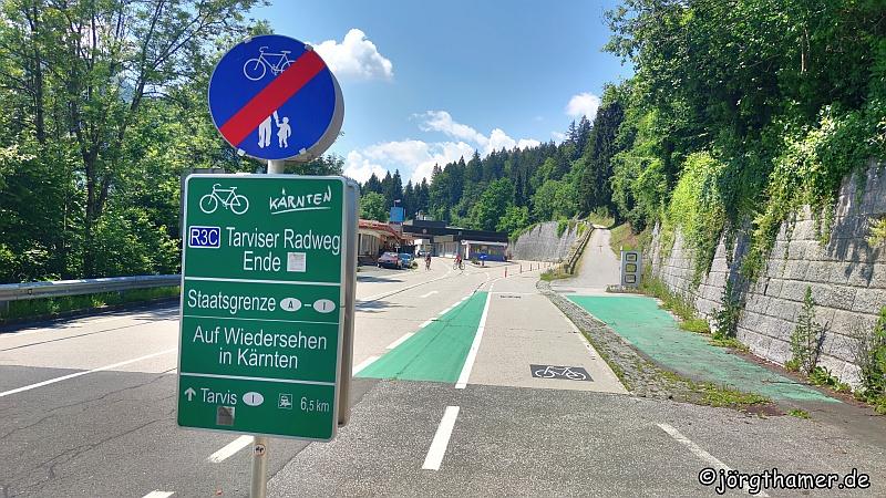 Staatsgrenze Österreich - Italien