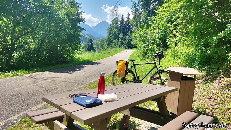 Pausenplatz Alpe-Adria-Radweg