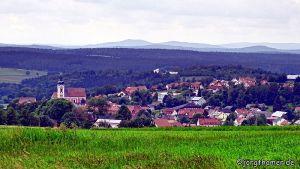 Neualbenreuth in der Mitte Europas