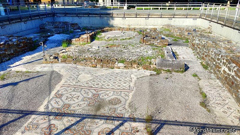 Römische Relikte in Grado