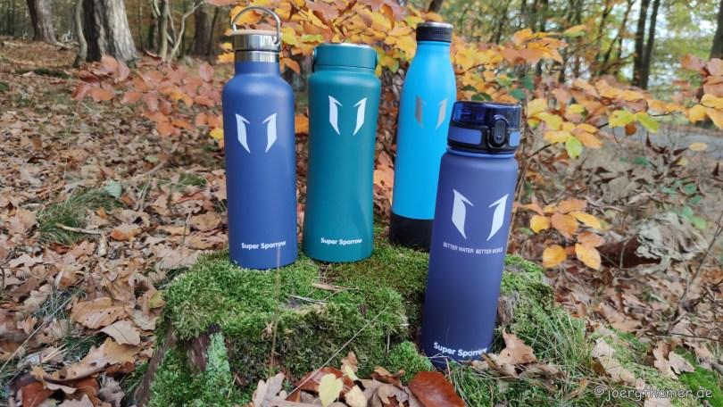 Super Sparrow - Trinkflaschen in allen Variationen   Outdoorsuechtig.de